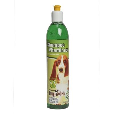 champu para mascotas puppy vitaminado con insecticida 390ml