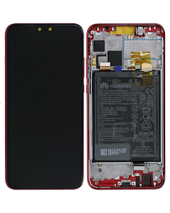 Y9 2019 LCD Display with - Coral Red