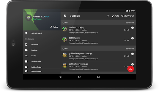 SD Maid Pro - Lizenzschlüssel Screenshot