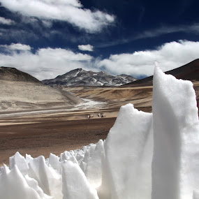 Mysterious ice formations by Maurice Schutgens - Landscapes Mountains & Hills ( mountains, desert, altitude, ice, volcanoes )