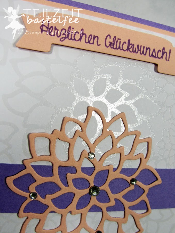 Stampin' Up! - Inkspire_me #395, Sketch Challenge, Persönlich überbracht, Hand delivered,, May Flowers Framelits, Banner