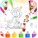 My Colors - Kids Coloring App icon