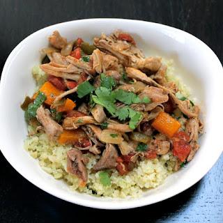 Paleo Mock Chipotle Chicken Burrito Bowl