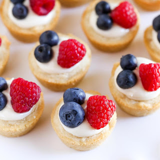 Lemon Berry Cheesecake Sugar Cookie Cups