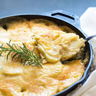 Parmesan Rosemary Au Gratin Potatoes