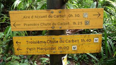 Photo: chutes du Carbet