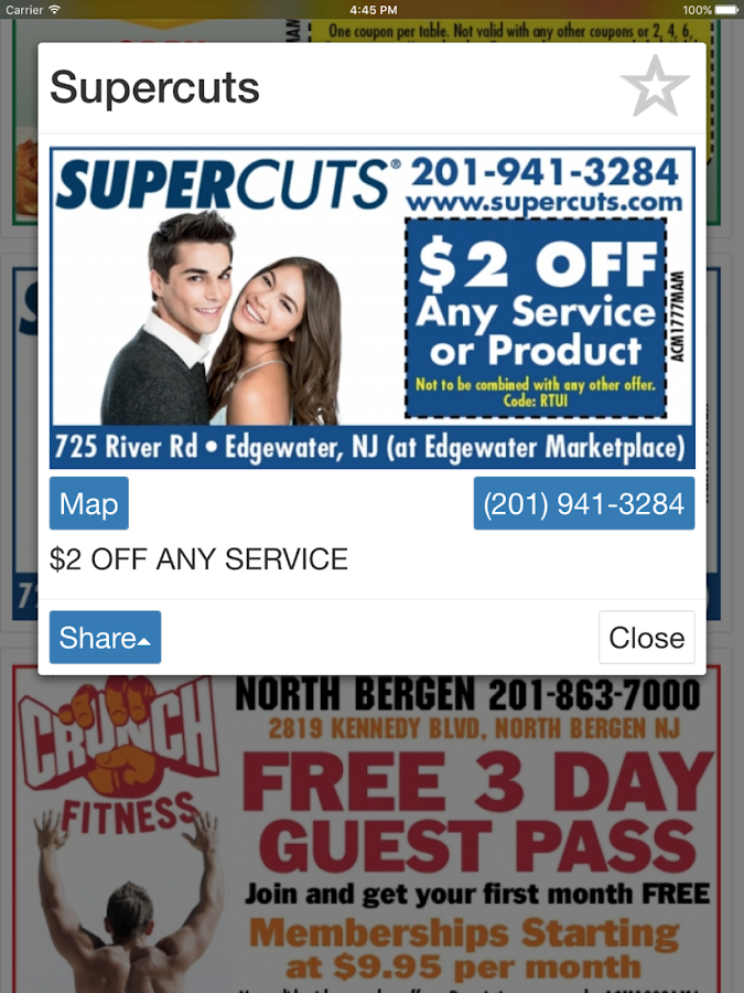 Coupon Me- screenshot