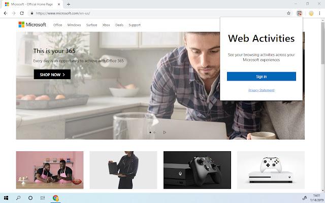 Web Activities