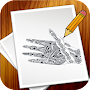 How To Draw Mehndi Design Step APK icon