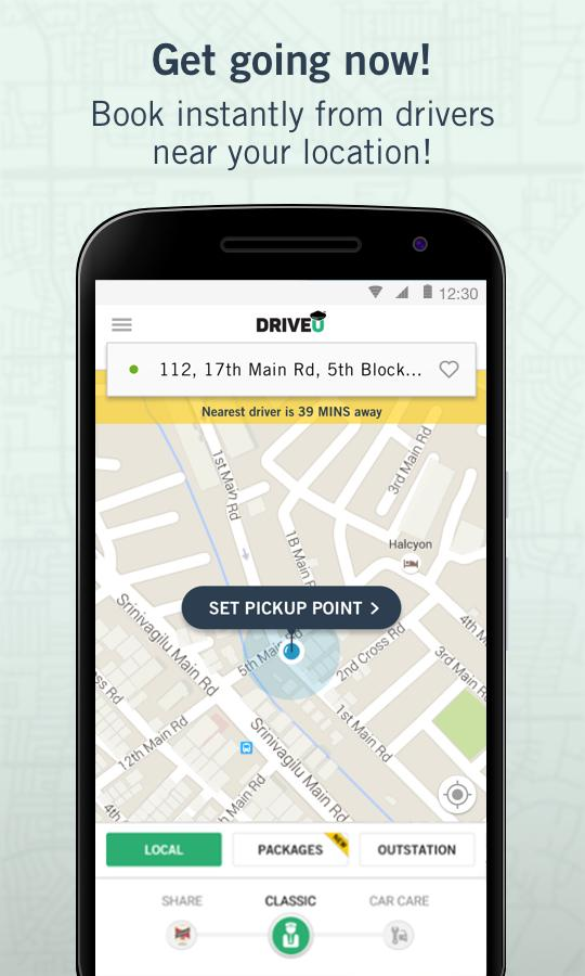 DriveU - Private Car Drivers- screenshot