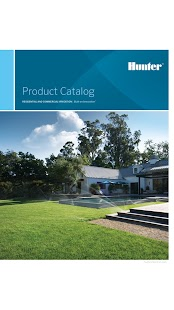 Hunter Irrigation Catalogs- screenshot thumbnail