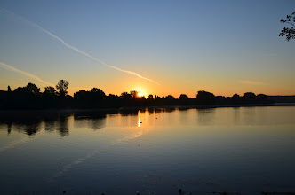 Photo: Sonnenaufgang am Bocholter Aasee