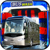 Bus Wash Tuning: Gas Station Parking Bus Simulator