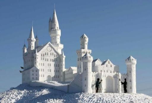 снежная скульптура_2