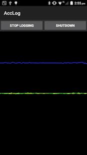 Accelerometer Logger - náhled