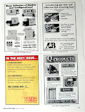 Photo: Top left ad is for a variety of switches and pumps distributed by Spa Parts Plus.
