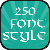 250 Font Style