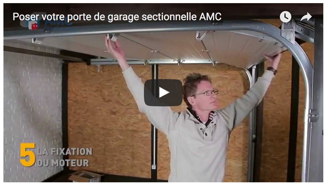 Devis porte de garage sectionnelle sur mesure for Poser une porte de garage sectionnelle
