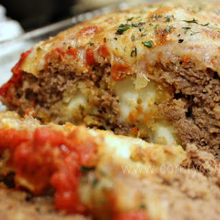 Stuffed Pizza Meatloaf