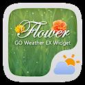 Flower GO Weather Widget Theme icon
