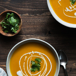 Curried Kabocha Squash Soup