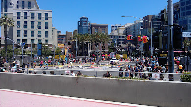 Photo: Gaslamp - view from convention center at a dull moment