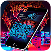 App Neon Cool Tech Theme APK for Windows Phone