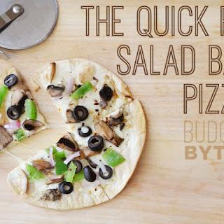 The Quick Fix Salad Bar Pizza.