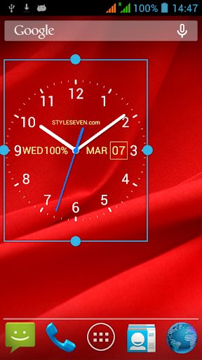 Analog Clock Live Wallpaper-7 by Style-7 (Google Play, United States) - SearchMan App Data & Information