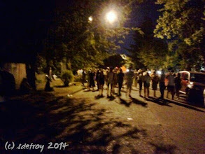 Photo: Grateful to fee safe walking at night during the neighborhood festival
