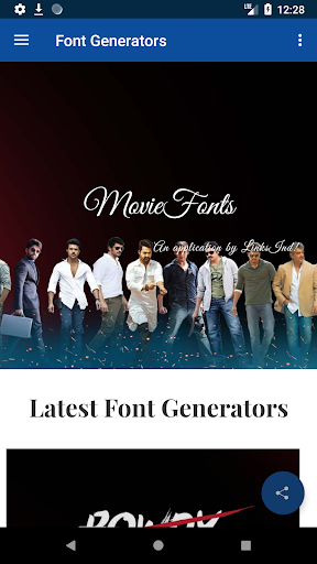 Movie Fonts : Movies Style Name Generator 2 2 Apk Download - net