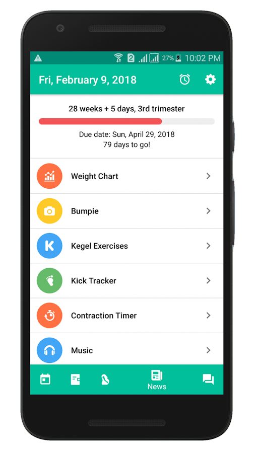 I'm Pregnant - Pregnancy Tracker- screenshot