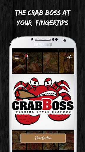 Crab Boss - Preorder & Pull up Screenshot