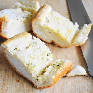 Easy Parmesan Garlic Bread.
