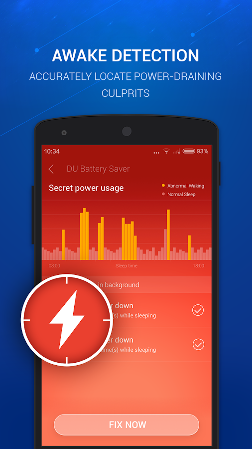 DU Battery Saver&Phone Charger- screenshot