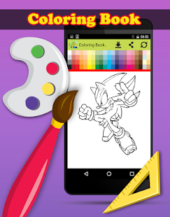 Download Coloring Book For Sonic PC Windows And Mac Apk Screenshot 9