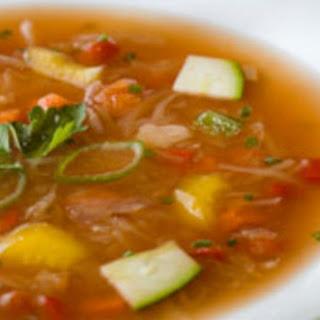 Vegetarian Soup.