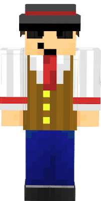 Budling as a bartender, for use in personal Minecraft world