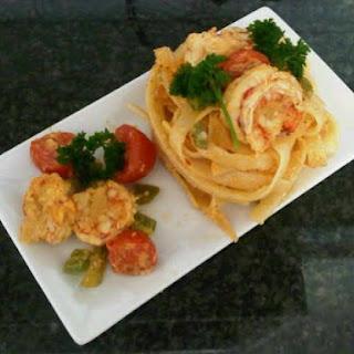 Prawn Pasta With Panache