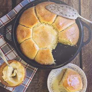 Quick Rise Cast Iron Honey Rolls