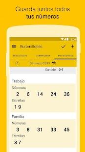 El Mundo Loterías - Resultados - screenshot thumbnail