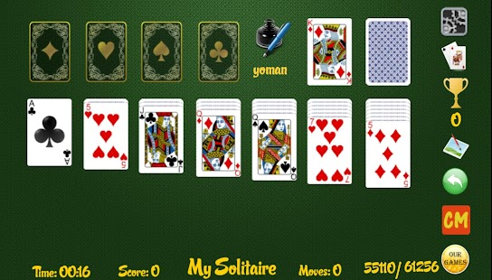 My Solitaire screenshot