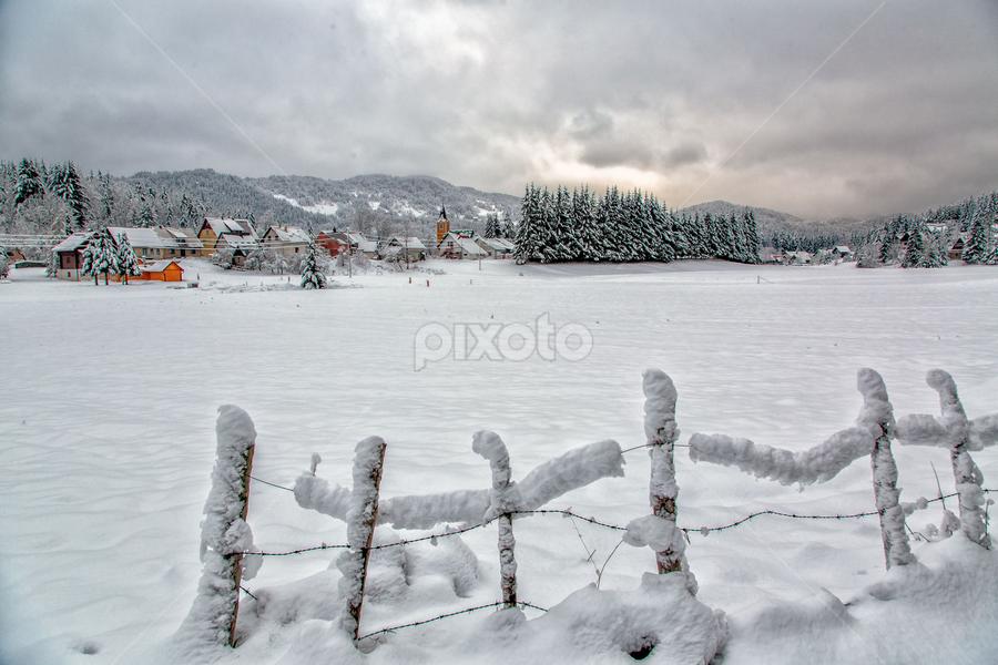 Winter in the mountain by Stanislav Horacek - Landscapes Weather