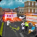 Ambulance Rescue Driver Sim icon