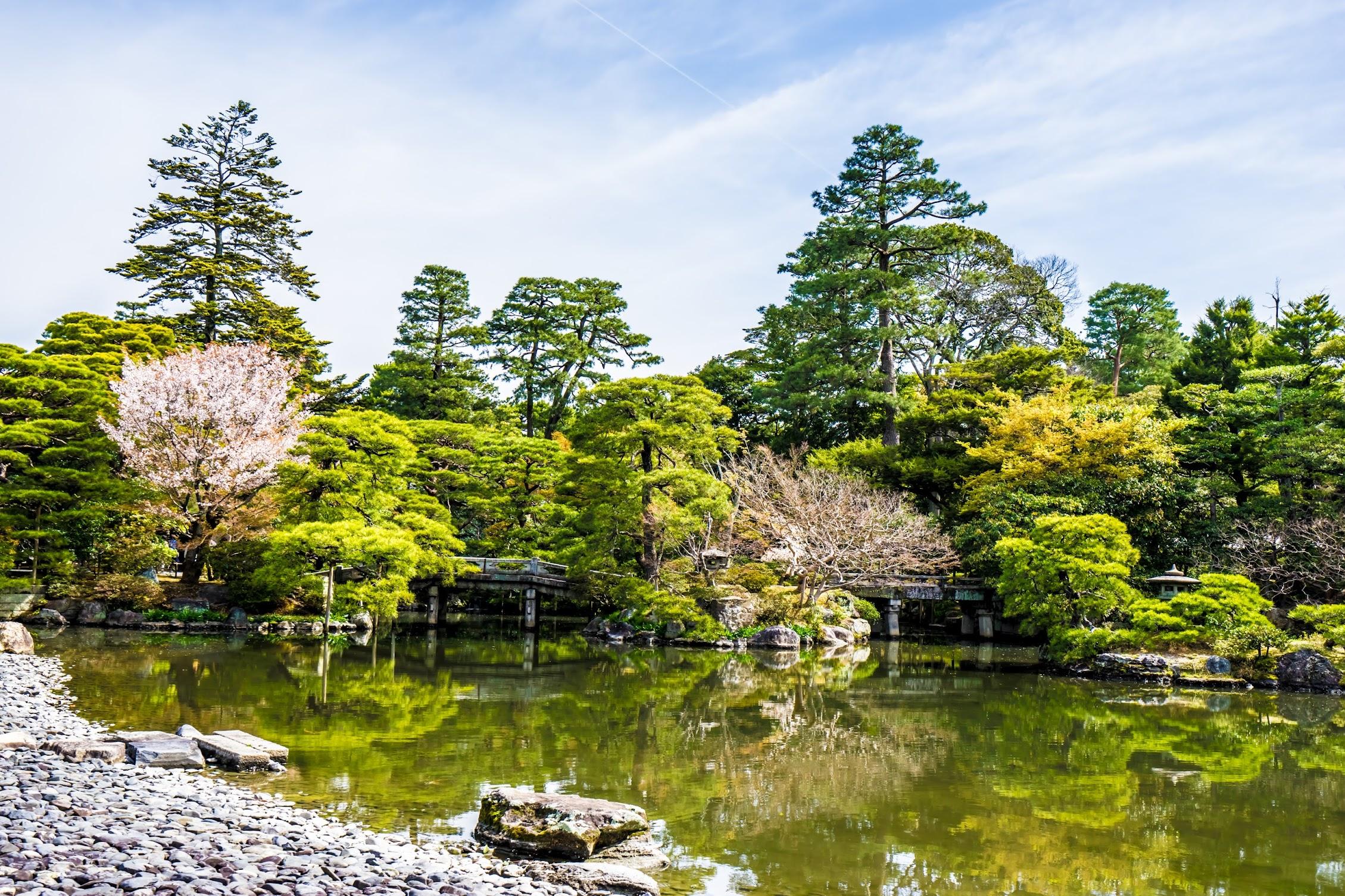 京都御所 御池庭3