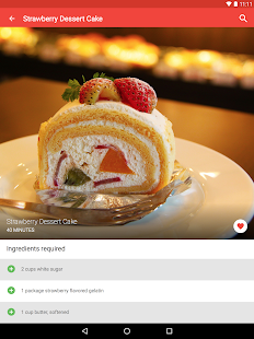 Cake Recipes FREE 🍰 Screenshot