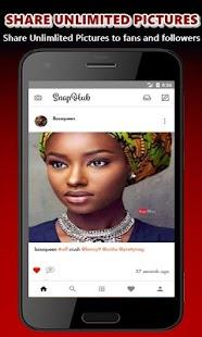 SnapHub - náhled