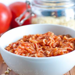Healthier Homemade Spaghettios