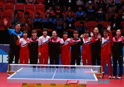 Ongezien! Noord- en Zuid-Korea willen niet tegen elkaar spelen, maar gaan als één team door