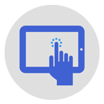 tablet engagement icon